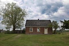 Greenwich NJ 05-16-13 (MelenaMe) Tags: old school sky tree nature newjersey greenwich lawn nj oldschoolhouse historicalschool