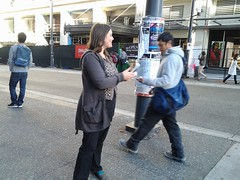Turkey Leafleting, December 2012 (liberationbc) Tags: vegan animalrights vegetarian activism outreach advocacy animalwelfare leafleting liberationbc veganoutreach