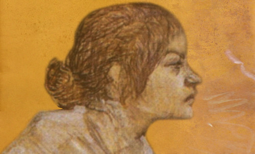 "Las Madeleines escuchando la soleada soledad, descripciones de Henri de Toulouse Lautrec (1889) y Pablo Picasso (1904). • <a style=""font-size:0.8em;"" href=""http://www.flickr.com/photos/30735181@N00/8805141897/"" target=""_blank"">View on Flickr</a>"