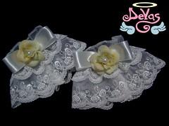 WRIST CUFF GLAM ROSE (VENDIDO!) (Devas Acessrios) Tags: rose lace lolita bracelet glam classical cuff wristcuff devas