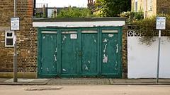 Keep Clear (Massimo Usai) Tags: road england house london car space garage parking putney londonist