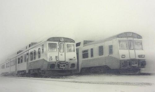 trenes grafito