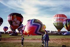 Balloon Fest (railynnelson) Tags: balloonfest hotairballoon harrisburg pennsylvania 1990 benihana