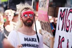 make normality (StellaMarisHH) Tags: europa deutschland hamburg stgeorg innenstadt csd parade canon canoneos5dmkii eos5dmkii 5dmkii tamron tamron70200 70200 28 offenblende mann gay bunt schwul homosexuell lightroom photoscape