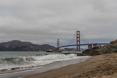 View of Golden Gate Bridge from Baker Beach (mojave955) Tags: california   unitedstatesofamerica northamerica usa westcoast    sanfrancisco  bakerbeach   goldengatebridge norcal northerncalifornia canon 7dmarkii