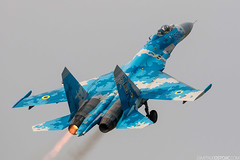 SU-27 Ukraina AF #58 BIAS2016 (Dimitrije Ostojic) Tags: flanker su27 military airplane aircraft aviation bucharest romania bias afterburn army ukraina air force