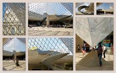 Pyramide du Louvre (Raymonde Contensous) Tags: pyramidedulouvre paris architecture architecturecontemporaine