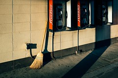 ES 186 (Dominic Bugatto) Tags: beckley westvirginia truckstop roadtrip fujifilmx100s streetphotography endangeredspeciesseries payphone 2016