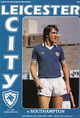 Leicester City vs Southampton - 1982 - Cover Page (The Sky Strikers) Tags: leicester city southampton fa cup road to wembley filbert street official matchday magazine 35p