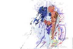Wedding of Megan & Paul color splash art (mikelynaugh) Tags: wedding art artwork weddingart splash colorsplash colors mikelynaugh lynaugh