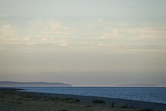 18071603 Newcastle-Howth (Philip D Ryan) Tags: ireland countywicklow newcastle newcastlebeach irishsea howth lambayisland mirage skyscape seascape eveninglight sunset