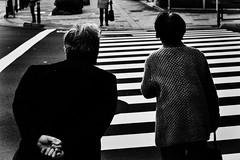 Amour Vie Destin (www.danbouteiller.com) Tags: japon japan japonia japanese japonais japonaise people couple crosswalk hands mains pavement tokyo ueno city ville urban photo rue photoderue street streetscene streetlife streets streetshot streetphoto streetphotography mono monochrome monochromatic black white noir blanc nb bw noiretblanc noirblanc blackandwhite blackwhite blacknwhite canon canon5d eos 5dmk2 5d 50mm 50mm14 5d2 5dm2
