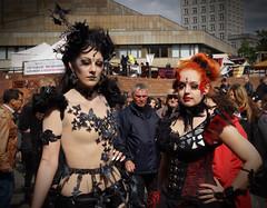 25 WGT Gotik Treffen Leipzig 2016 (ingrid eulenfan) Tags: wavegotiktreffen 2016 leipzig le wgt wave wgt2016 gothicfestival gothic gotik gotic gotica gotiche gotisches gothicanhnger schwarzeszene szene goths accessoires festival reifrock frau woman sexy beine kostm