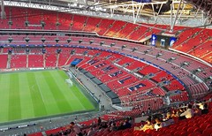 This is Wembley (che1899) Tags: tottenham hotspur spurs wembley championsleague