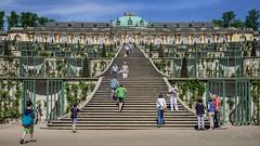 Sans Souci (PauliMatze) Tags: schloss castle sanssouci potsdam berlin deutschland germany stairs treppe gebude building