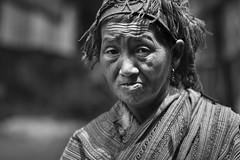 Black hmong woman (leonardrodriguez) Tags: vietnam people visage portrait vietnamese vietnamien vietnamienne vietnamiens vietnamiti vietnamita bw black white nb noir blanc blackwhite noirblanc hmong blackhmong woman ethnie minorit minorithy asie asia