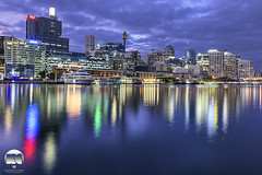 Sydney | Darling Harbour , Breaking Dawn (kenneth chin) Tags: nikonaustralia reflection sydney darlingharbour nikon d810 nikkor 2470f28g australia nsw city attraction