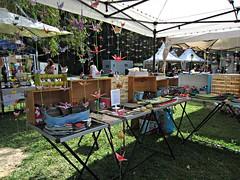 Haras d'Annecy (AmyEAnderson) Tags: outdoor fair festival craft origami handmade handcrafted wares artisan annecy france europe rhonealps hautesavoie alps harasdannecy sale goods tent market