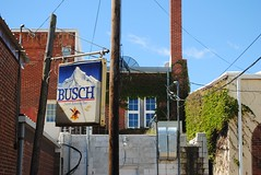 Busch Beer, Amboy Illinois (Cragin Spring) Tags: building sign busch buschbeer beersign amboy il illinois amboyil amboyillinois piwo bier usa beer midwest