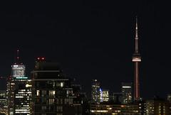Toronto night skyline with CN Tower (Mihnea Stanciu) Tags: toronto cntower night cityscape city canada