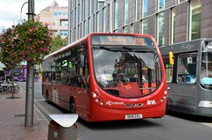 A bit off route..... (stavioni) Tags: weight wrightbus streetlite 406 red carousel sk16gxl link bus reading transport