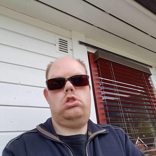 #brilleselfie 1. Mine nye filterbriller til bruk ute er ankommet heimen med bud.