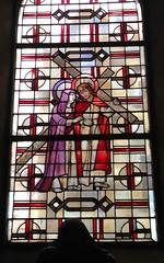 St. Marien / Kirchenfenster / 2 (micky the pixel) Tags: kunst art glasmalerei kirchenfenster fenster window jesus kirche church marienkirche neunkirchen saarland deutschland germany