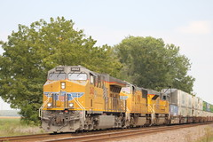 54360 (richiekennedy56) Tags: unionpacific et44ac sd70m sd70ace up2642 up4163 up8874 kansas newman perry jeffersoncountyks railphotos unitedstates usa