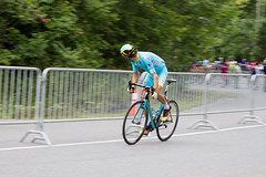Diego Rosa, digging, last climb (mr_moussette) Tags: gpcqm grandprixcyclistedemontral uci worldtour montreal astana rosa