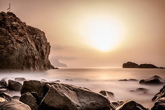 Ocaso (amiglia) Tags: light sunset longexposure canaryislands tenerife ocean
