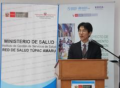 PER: Visita de la Directora Adjunta de OPS a Comas para conocer avances del Proyecto OPS/KOICA para disminuir la tuberculosis en apoyo a los gobiernos locales (Pan American Health Organization PAHO) Tags: tuberculosis comas ops koica