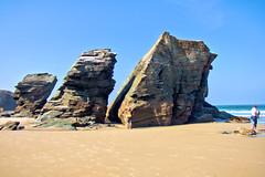 playa las catedrales3 (S H Candela) Tags: hdr raw fz72 panasonic paisaje mar ribadeo rocas arena naturaleza