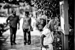 Popeye (francesco_if ) Tags: popeye street streetphotography blackandwhite bokeh biancoenero trevignano d3 nikon outdoor