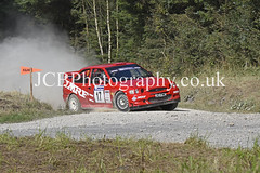 _DSC4404a (chris.jcbphotography) Tags: special stage 4 dalby forest trackrod rally yorkshire motor club ford escort cosworth ian joel codriver graeme wood