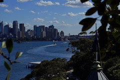 flight path over Sydney (Blue Mtns. bush girl off on Holidays!) Tags: sydneyharbour tarongazoo