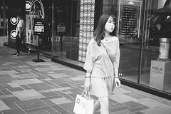 _DSC6764 (Kevin*) Tags: street snapshot people girl china beijing sanlitun streetphotography streetshooter streetshot streetscence lift view sence snap shot streetsnapshot monochrome black white blackandwhite bw nocolor human humanity
