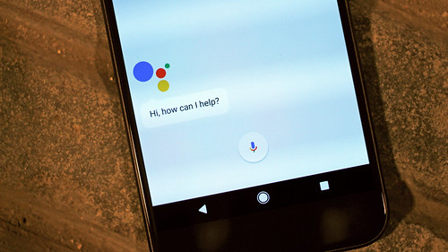 Android Assistant on the Google Pixel XL by pestoverde, on Flickr