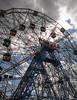 Coney Island. Wonder Wheel. (Vitaliy973) Tags: nyc newyork brooklyn coneyisland wonderwheel astrolandpark nikond7000