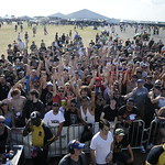 The Crowd at The Vans Ramp