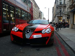 Mansory (BenGPhotos) Tags: uk red england black slr london car mercedes benz german british tuning rare supercar v8 spotting tuned mansory renovatio hypercar 80808 mcalren