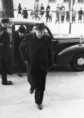 Vidkun Quisling in Drontheim. 1941/11/14-15. (Riksarkivet (National Archives of Norway)) Tags: ns worldwarii trondheim 1941 secondworldwar trøndelag quisling krigen vidkunquisling drontheim andreverdenskrig okkupasjonstiden frederikprytz