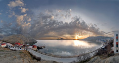 (viton_I) Tags: sunset sea sky sun landscape panoramas        karadag    theworldwelivein  kimmeria