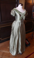 Anna Karenina Moss Velvet Gown Dolly (Martin D Stitchener) Tags: london film movie keiraknightley nationaltrust judelaw hamhouse annakarenina leotolstoy