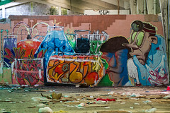 La Fabrica - 70 (r2hox) Tags: graffiti urbanart santiagodecompostela arteurbano abandonedspaces