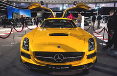 Wings (Ni.St|Photography) Tags: show black art cars car photography mercedes serbia series belgrade beograd sls amg srbija