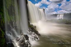 Wall of Water (pdxsafariguy) Tags: brazil mist water argentina clouds waterfall unesco cataratas subtropical iguazu devilsthroat gargantadeldiablo iguazufalls tomschwabel cataratasdeliguazu