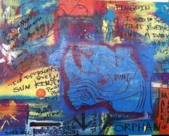 Adam_Brett_Rhino_Sad (adambrettart) Tags: original abstract beach paintings jacksonville fluidity adambrett