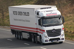 WX13VGM - Peter Green Transport-001 (timmyticket) Tags: mercedes peter mp4 grren actros