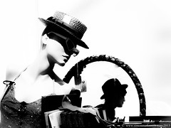 Pix 2013 4 April 12 Sheep on Downs (44 of 46)Edits (Simon Mark Smith) Tags: mannequin 1930s