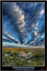 Antelope Island State Park (pharoahsax) Tags: world park sunset usa get southwest colors clouds canon island evening abend bay utah google cg state wolken best national sp antelope pro campground hdr 2012 bridger niks effex südwesten 5dmk3 5d3 pmbvw canon5d3 usa2012 worldgetcolors